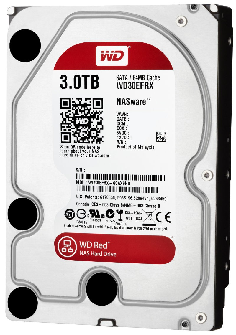 WD Red 3TB 8001